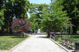 Maria Hernandez Park Will Get A Synthetic Soccer Field and a Misting Station in the Future