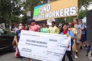 Large Turnout at Maria Hernandez Park to Celebrate $2.1 Billion Excluded Workers Fund
