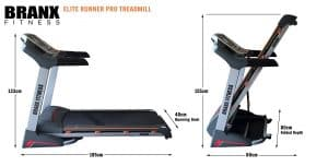 Best foldable treadmill under bed -Branx fitness
