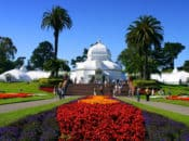 """SF's """"Conservatory of Flowers"""" Free First Tuesdays (Golden Gate Park)"""