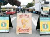 """Mission Community Market"" Night Farmers Market (SF)"
