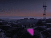 """SF's """"Pink Triangle"""" Illuminated with 2,700 Pink Lights in 2020"""