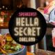 "Oakland ""HellaSecret"" Speakeasy Comedy Show & Cocktail Night (7p + 9p Shows)"