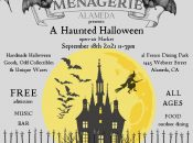 """Alameda's Official """"Haunted Halloween"""" Open Air Market (The Menagerie)"""