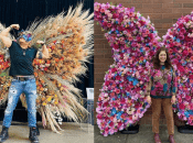 """Giant 9-Foot Floral """"Butterflies"""" Are Coming to SF's Streets"""