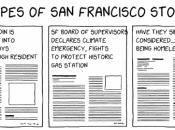 Comic of Stereotypical SF Headlines Goes Big on Reddit