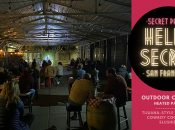 """HellaSecret"" SF Outdoor Comedy Night & Secret Beer Garden (Marina)"