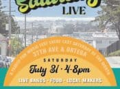 """""""Last Saturday Live"""" Monthly Outdoor Mini Music Fest (SF)"""