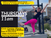 Free Outdoor Bollywood Fitness Class at Civic Center Plaza (SF)