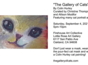 """""""The Gallery of Cats"""" Halloween Art Show (Oakland)"""