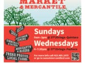Wednesday Outer Sunset Farmers Market & Mercantile (SF)
