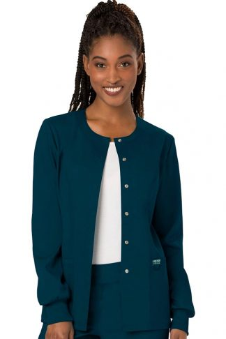 snap front jacket
