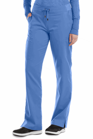 GA4277- Ceil Blue - Grey's Anatomy Destination 6 Pocket Cargo Scrub Pant