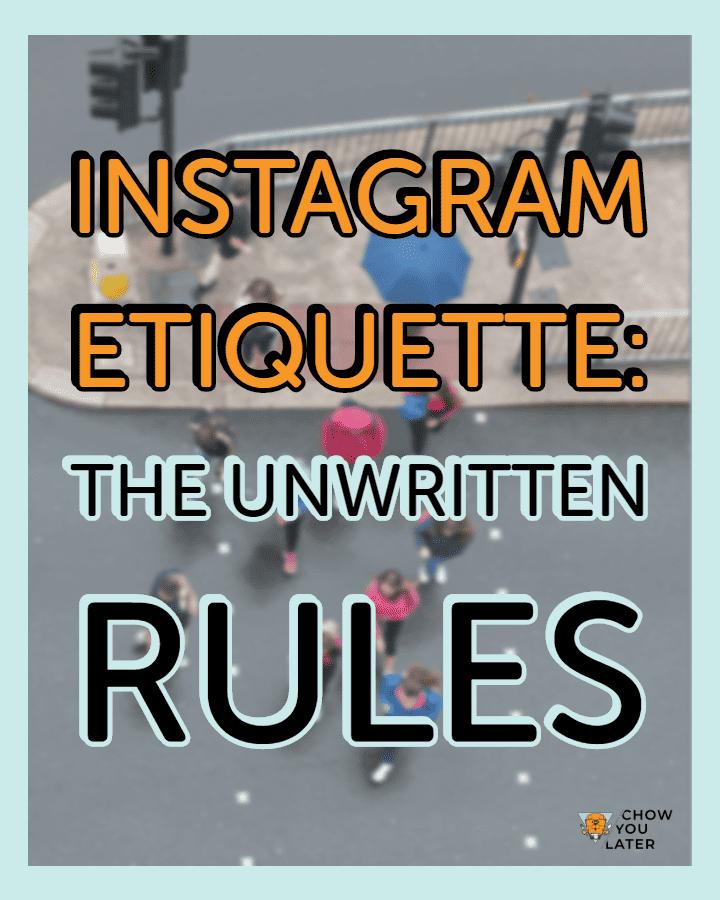 Instagram Etiquette Featured Image