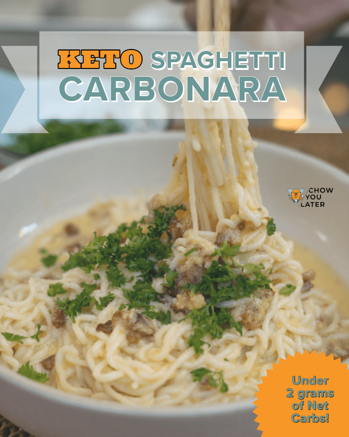 Keto Carbonara featured image