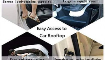 Reach Top of The Car With Moki Doorstep Easily