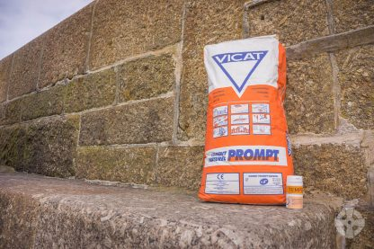 Vicat Prompt and Tempo with sea wall