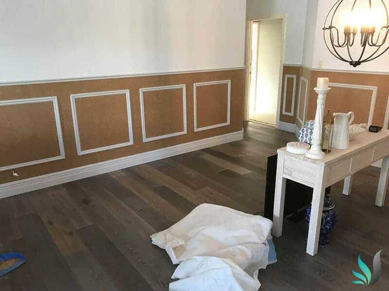 Hamptons Style Wainscoting Interior Design by Custom Creations Perth