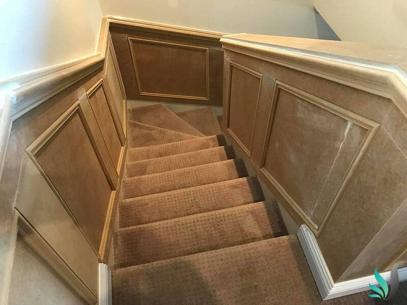 Wainscoting Panels for stair cases in Perth by Custom Creations