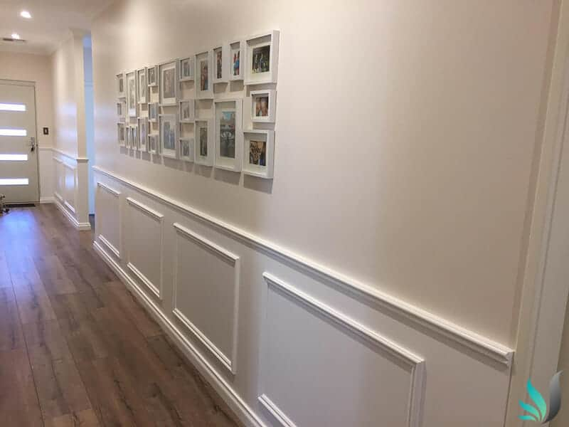 Hamptons Style Wainscoting Wall Panelling Homes in Perth