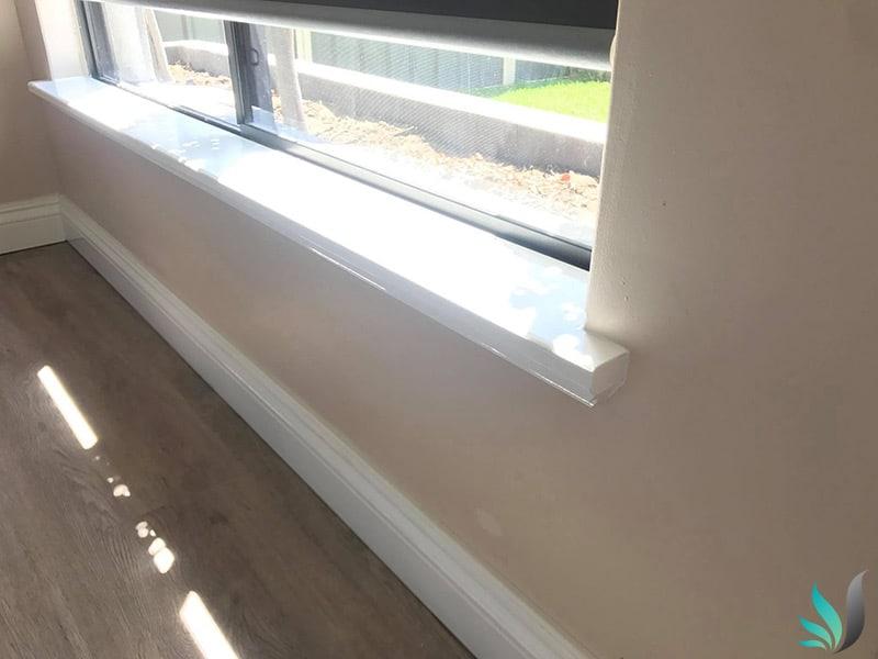 Custom Creations Perth WA window sills livingroom