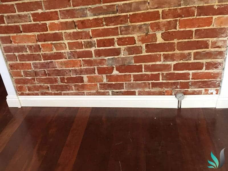 Custom Creations Perth WA brick feature wall and skirting boards