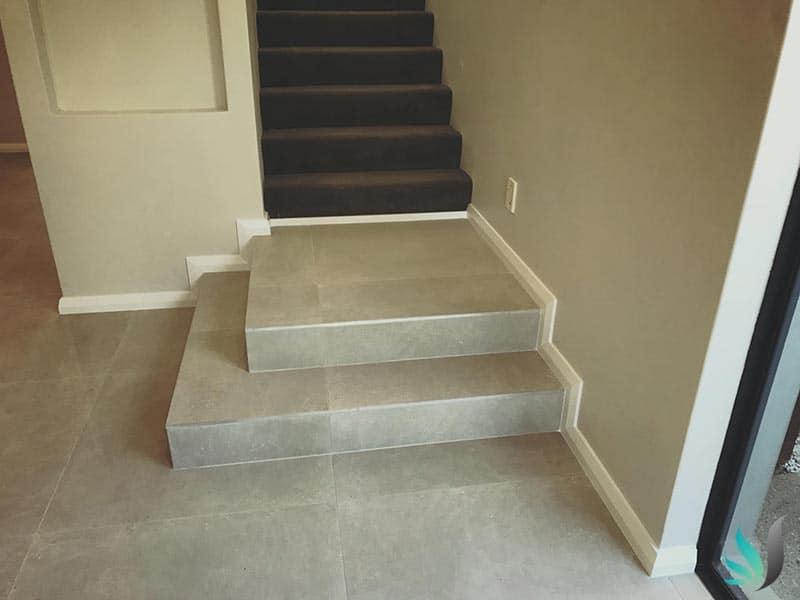 Custom Creations WA skirting boards Claremont Perth WA Kitchen front stairs