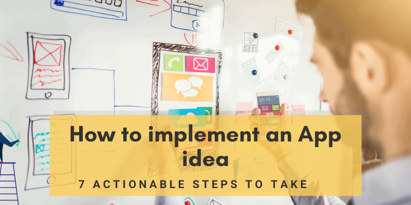 How to implement an app idea