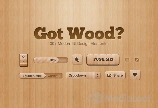 Holz Texturen für Photoshop