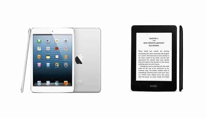 Kindle Paperwhite kaufen - vs- iPad