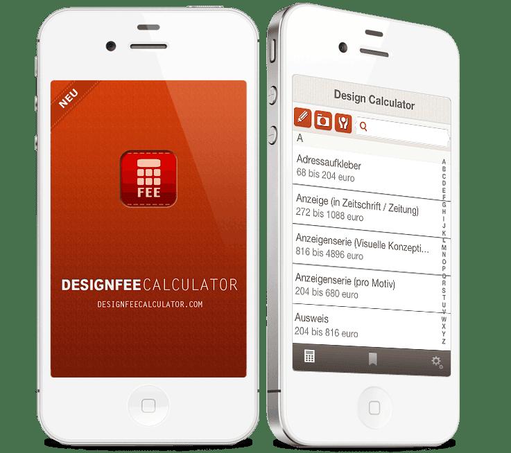 Design Fee - Design Kalkulator