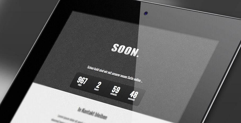 Neues Theme fertig: Soon.