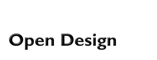 Open Design: Wenn die Kreativbranche kreativ wird