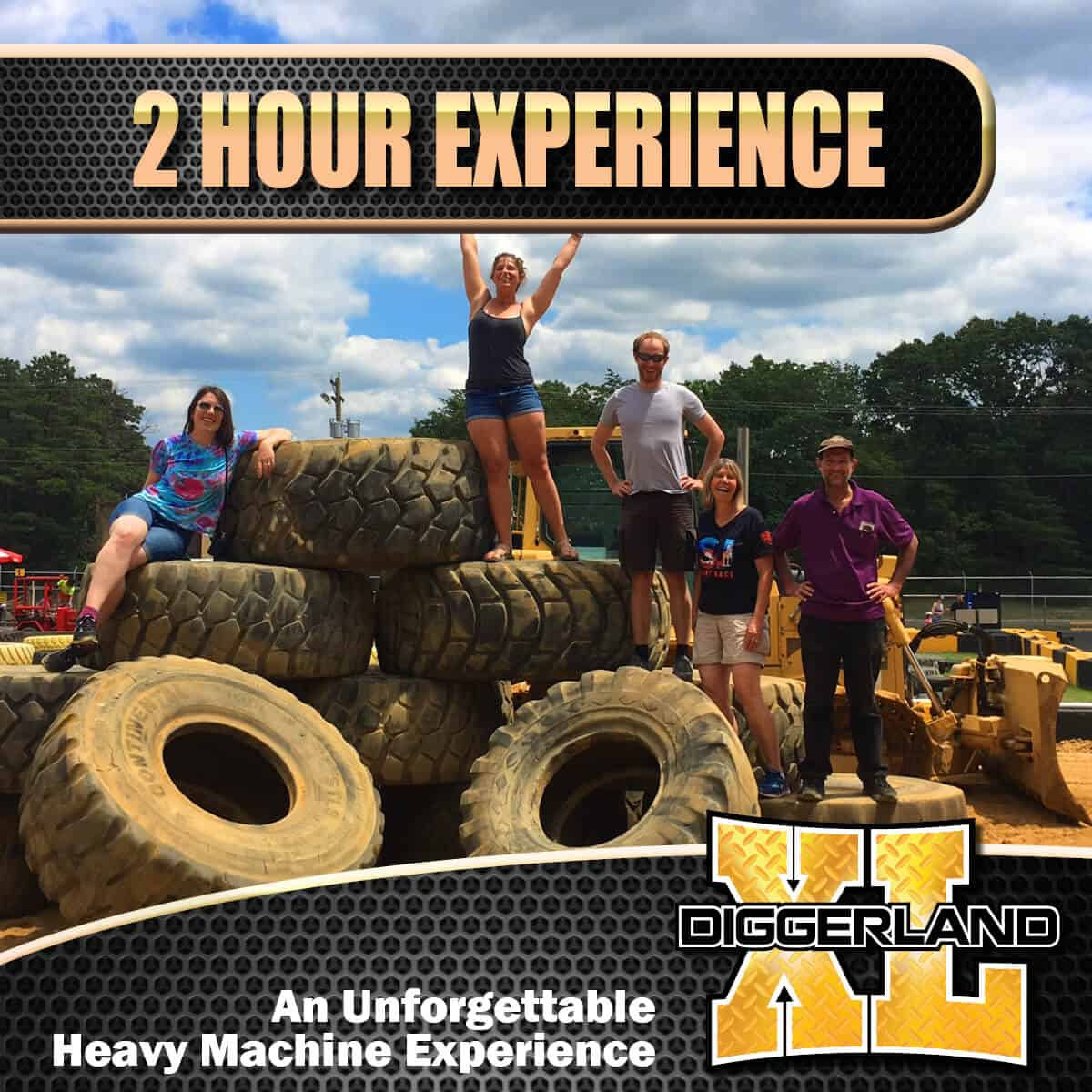 Diggerland XL experience 2 hour package