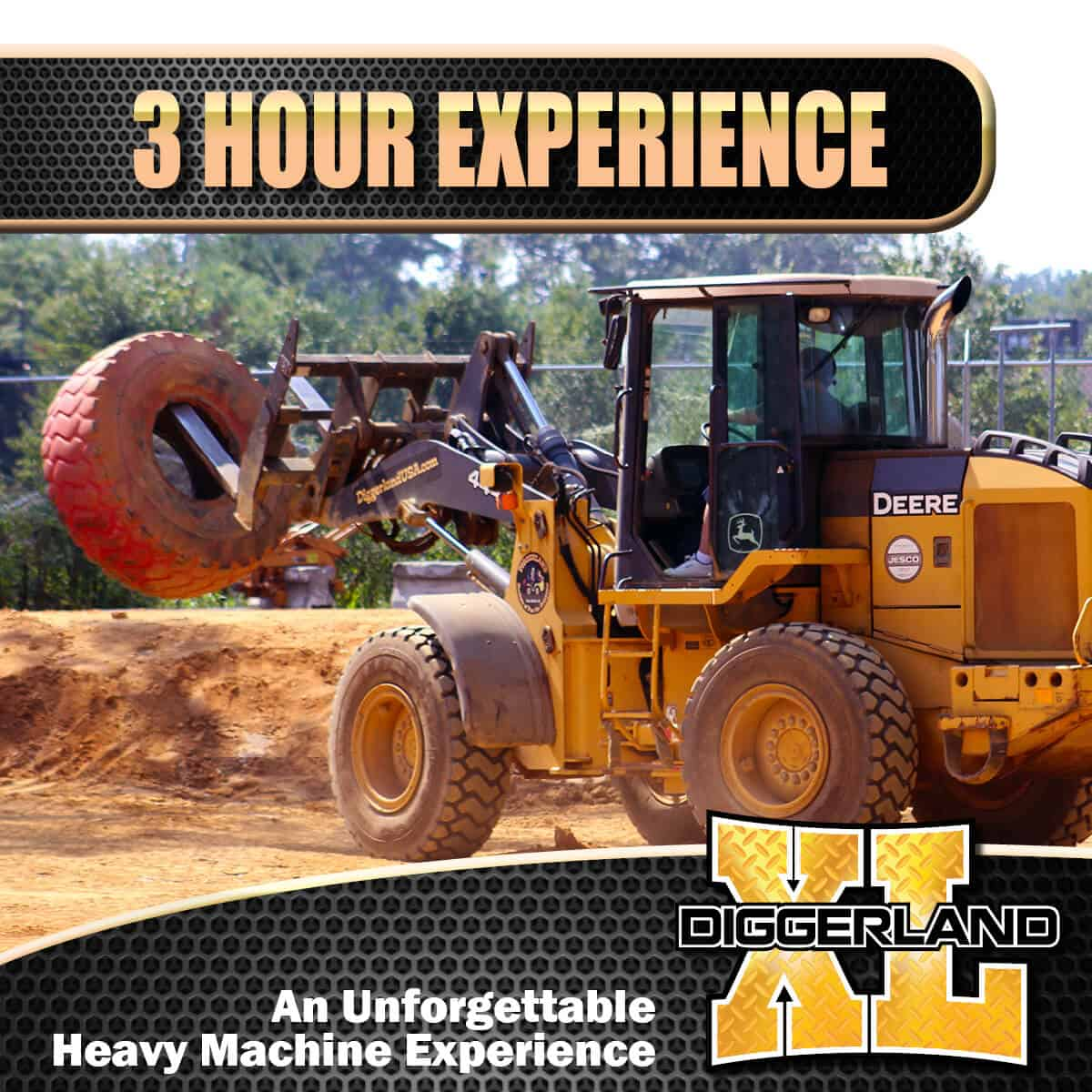 Diggerland XL experience 3 hour package