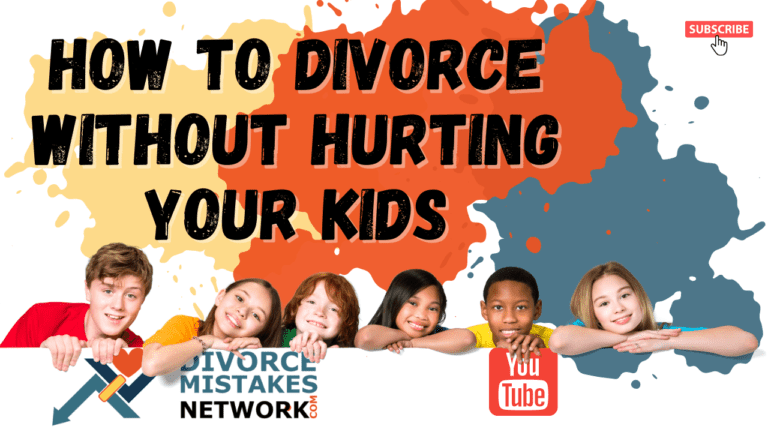 How To Divorce Without Hurting Your Kids?