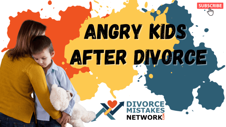 Are You Experiencing Angry Kids After a Divorce?