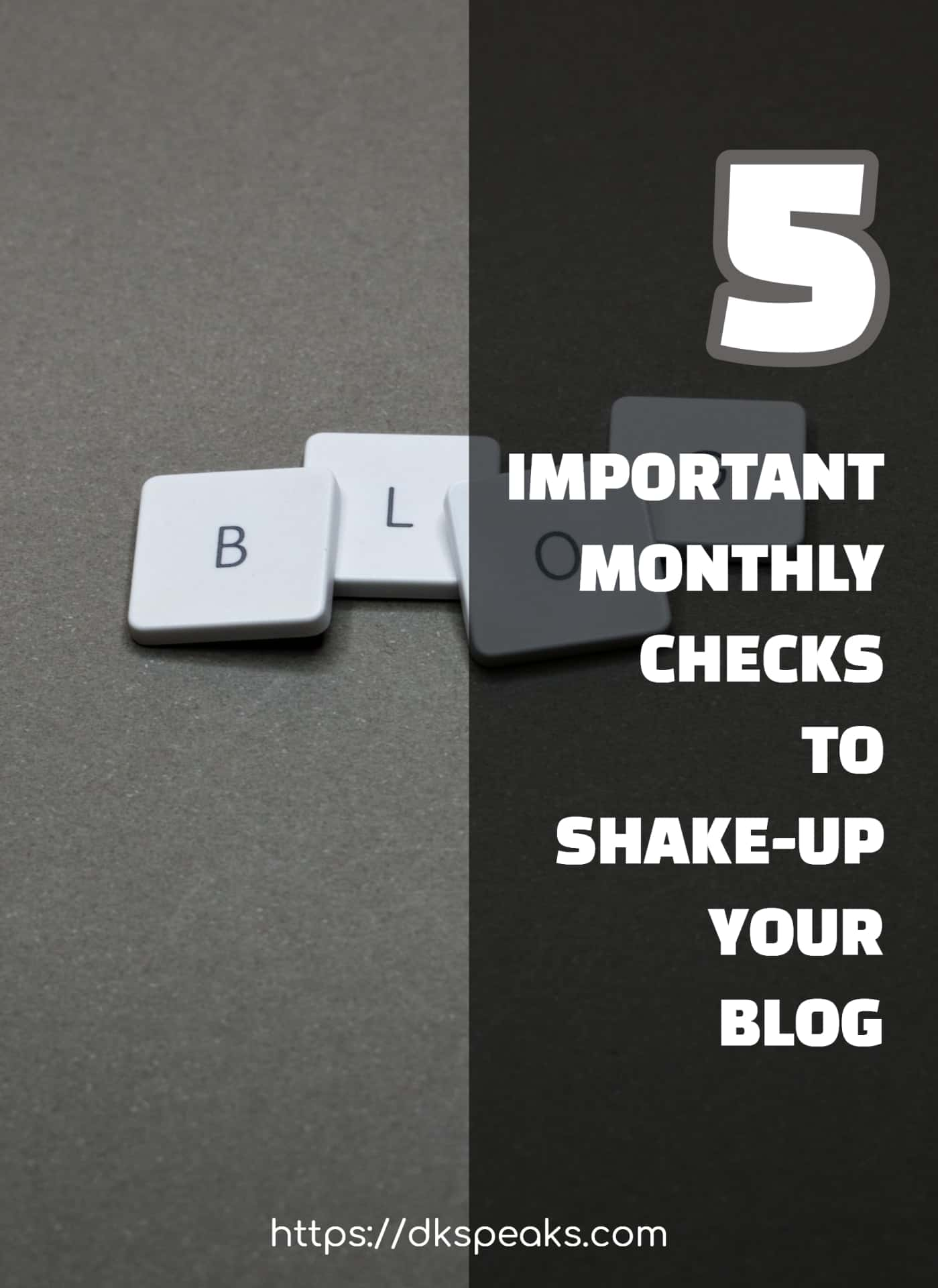 Monthly blog checks
