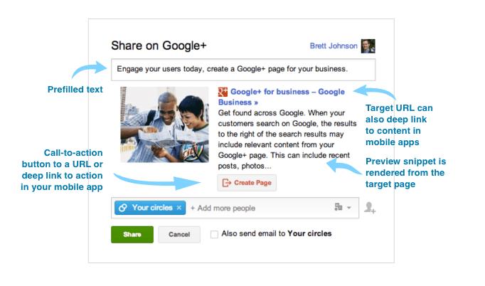 configuring google plus interactive posts