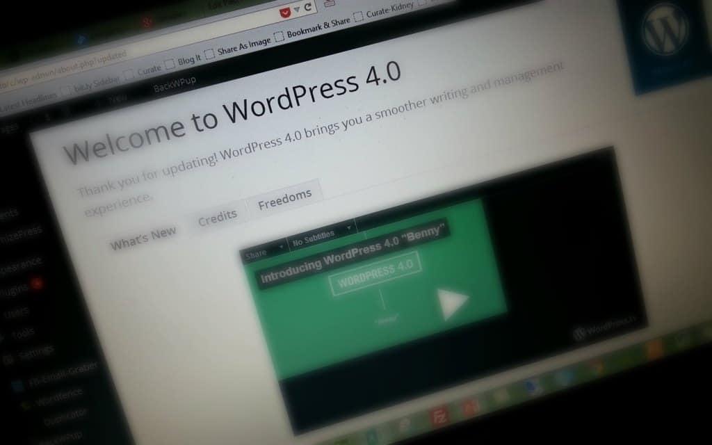 what's new in WordPress 4.0