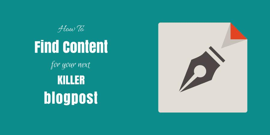 find content ideas