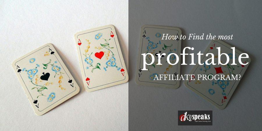profitable affiliate programs