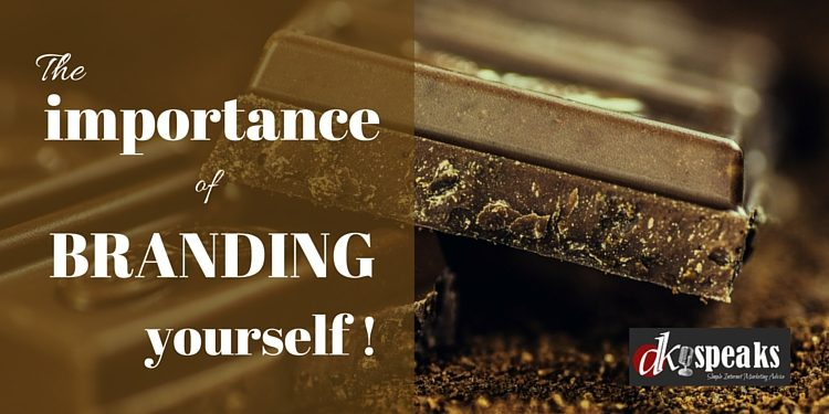 importance of branding yourself