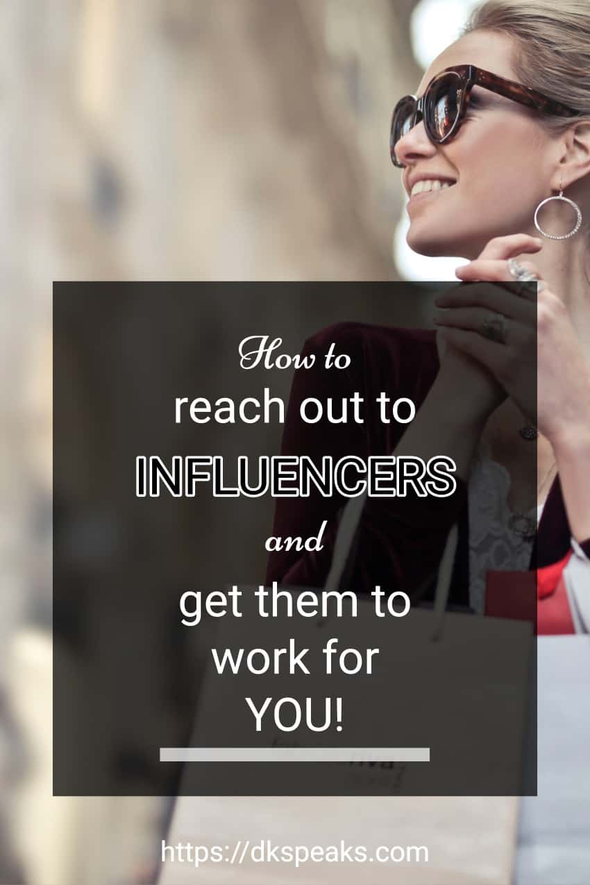 how to reach out to influencers