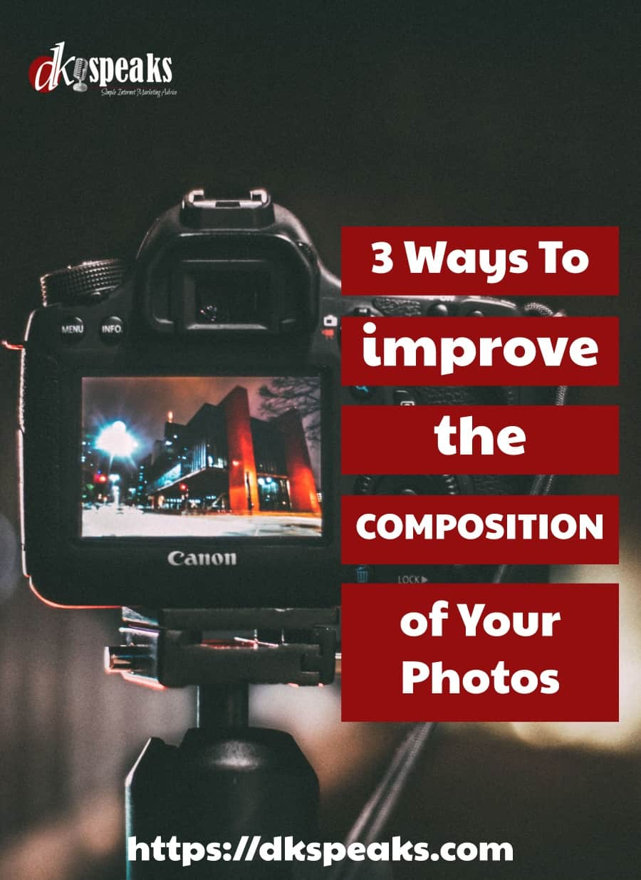 ways to improve the composition of photos