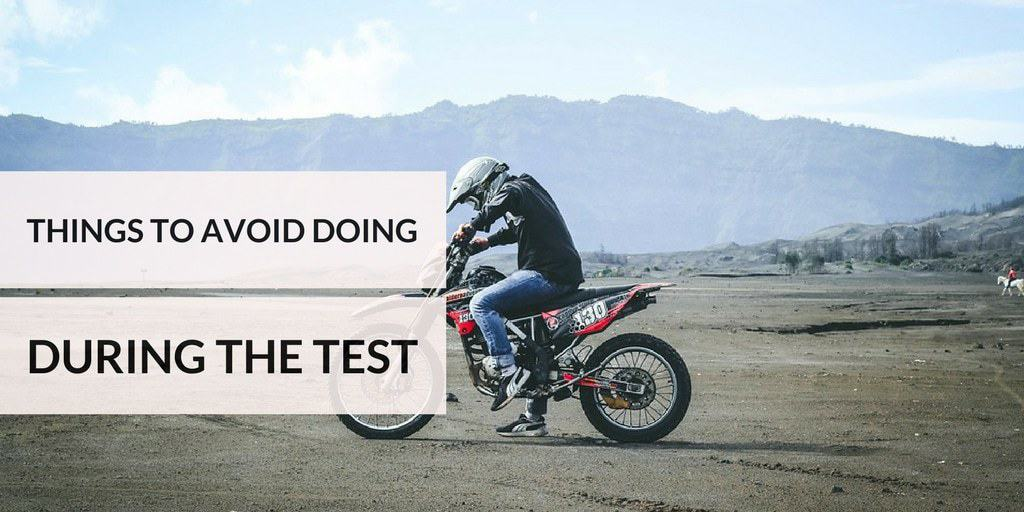 Things To Avoid Doing During The Test