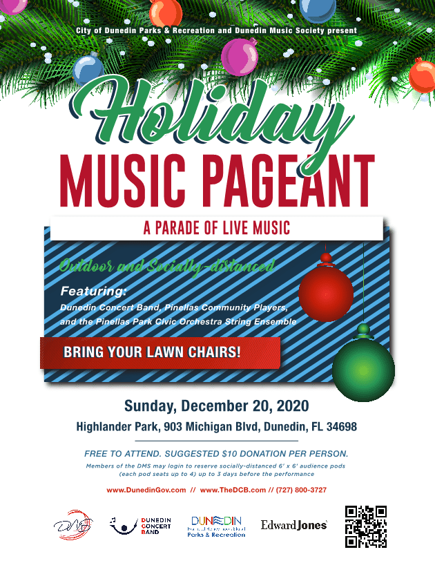 Holiday Music Pageant Dec 20 in Dunedin