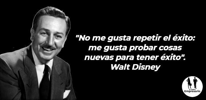 Frases Walt Disney motivación para emprendedores