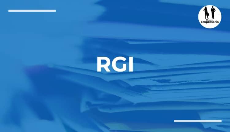 RGI gestión de los recursos de información