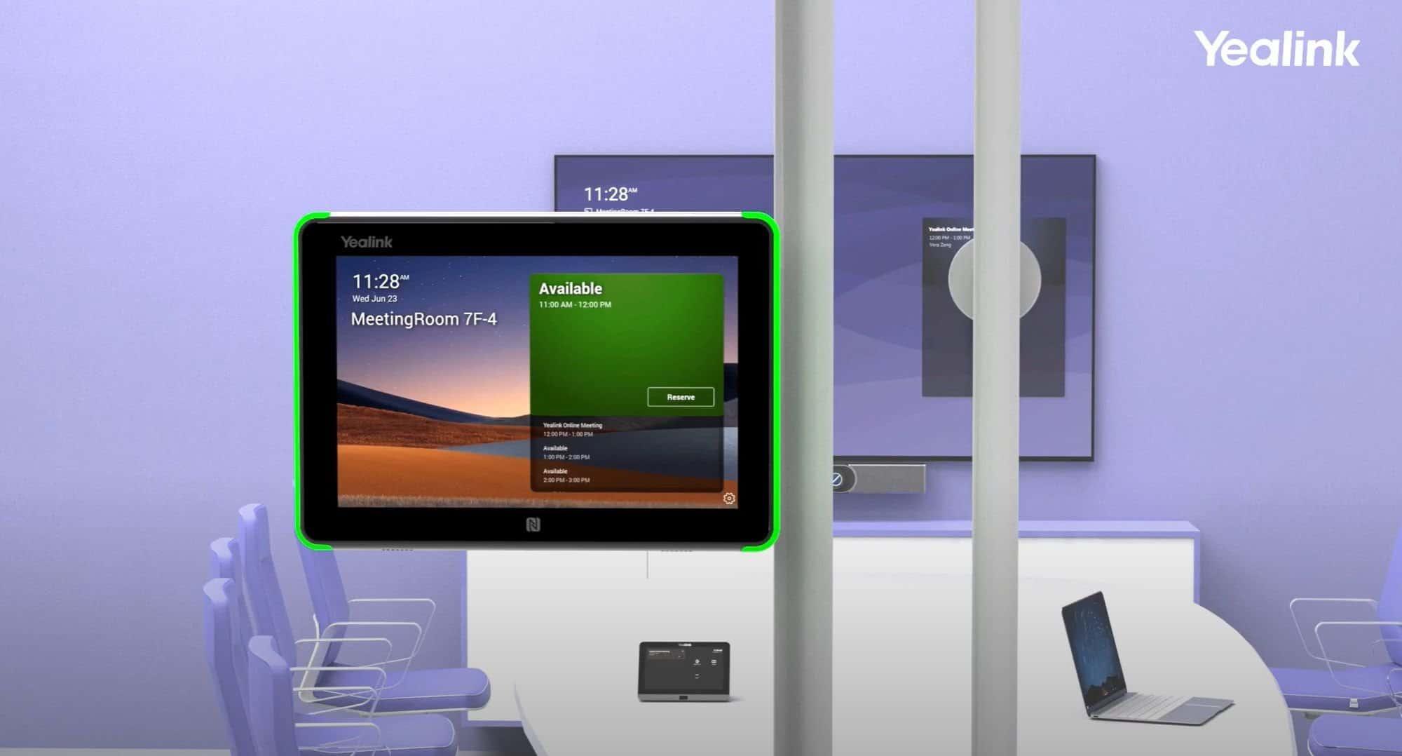 Yealink RoomPanel for Microsoft Teams